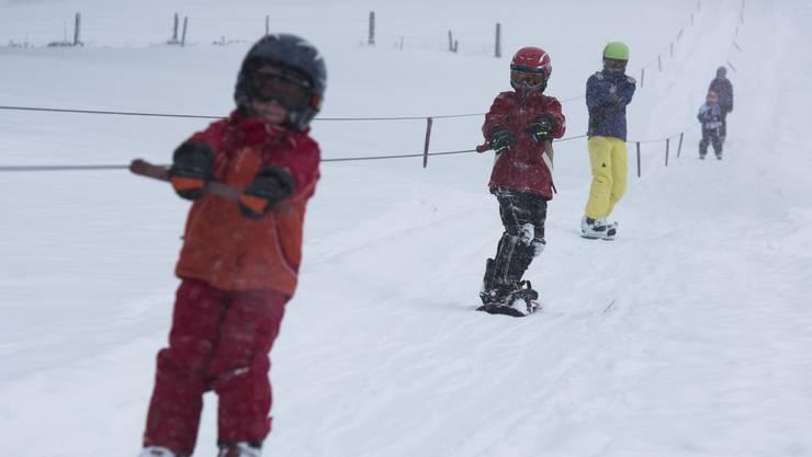 Skifahren im Aargau? Noch ist daran leider nicht zu denken – auch nicht wie hier am Skilift Horben im Freiamt. (Archivbild aus dem Jahr 2014)