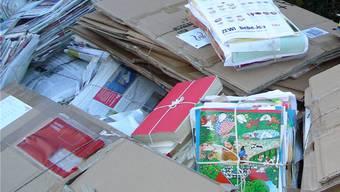 Der Wunsch nach einem Container für Papier und Karton gelangte an den Gemeinderat. (Symbolbild)