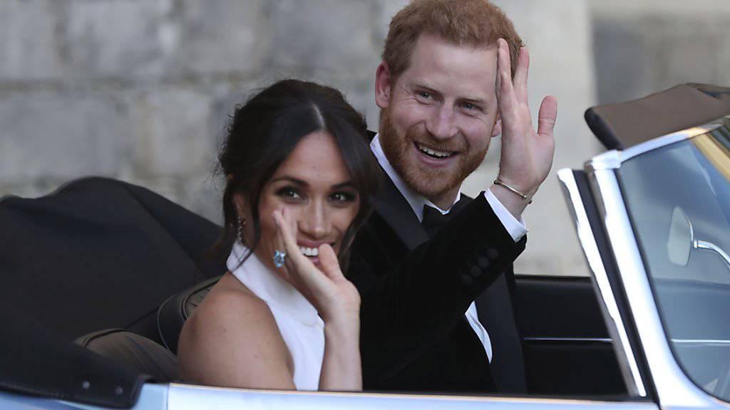 Prinz Harry und Meghan erste grosse Auslandstour