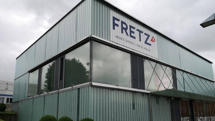 Aktuell beschäftigt Fretz Men in Fahrwangen noch rund 50 Mitarbeitende.