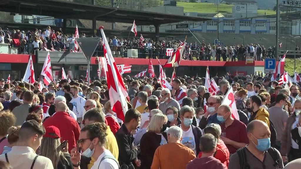 Moutier entscheidet sich für den Kanton Jura