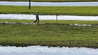 Tauwetter im Churer Rheintal am 22. Dezember 2010: seit zehn Jahren hat es in der Schweiz immer Weihnachtstauwetter gegeben. Die Chance, das es eintritt, liegt bei 70 Prozent.