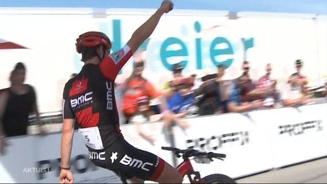 Glückliche Sieger am Swiss Bike Cup Gränichen