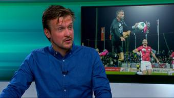 AZ-Sportreporter Sebastian Wendel und AZ-Chefredaktor Rolf Cavalli im FCA-Talk.