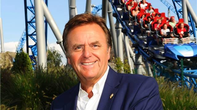 Europapark-Chef Roland Mack arbeitet und wohnt mitten in seinem Vergnügungspark.