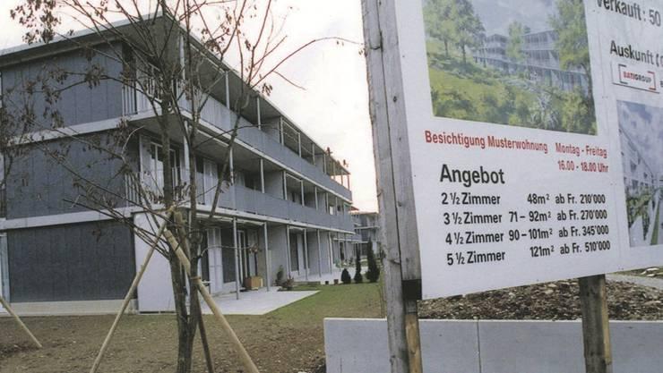Hauseigentümer betroffen: Der Eigenmietwert ist im Aargau gestiegen. KEYSTONE