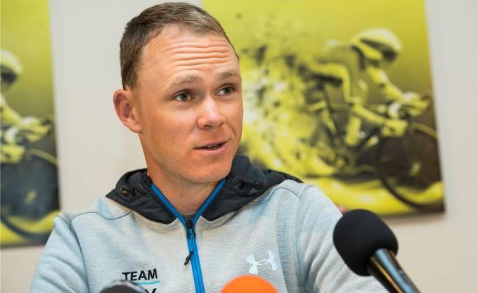 Chris Froome gilt als Favorit auf den diesjährigen Giro-Sieg.