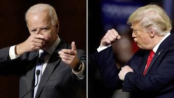 Joe Biden, 77, hat noch nicht entschieden, ob er vor Ort am Demokratischen Parteitag teilnehmen wird. Donald Trump, 74, hingegen will sich von der Coronaepidemie nicht die Stimmung verderben lassen. Einen entscheidenden Fehler hat er aber bereits begangen.