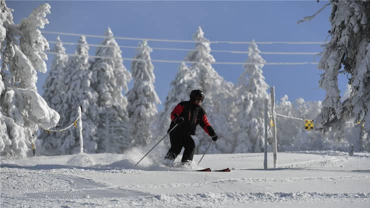 Ob sich die FCA-Profis auch auf die Skis wagen?