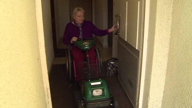 Traurige Weihnachten für Rollstuhlfahrerin