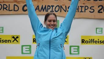 Melanie Mathys stand zweimal zuoberst auf dem Podest (Sprint + Klassisch)