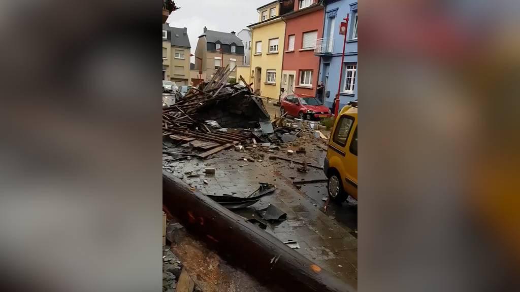 Luxemburg: Tornado hinterlässt Schneise der Verwüstung