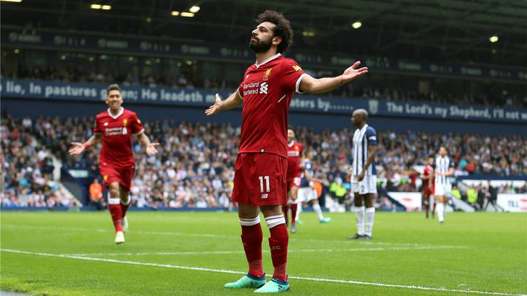 Mohamed Salah wurde bei Liverpool mit seinen Toren zum Weltstar.