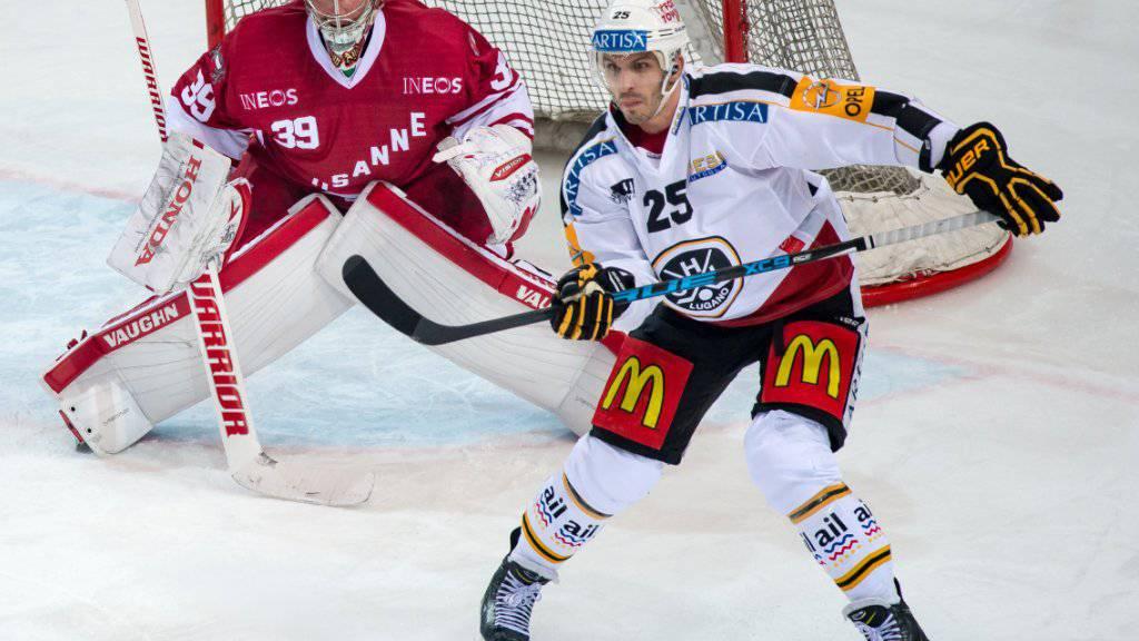 Maxim Lapierre bleibt bis 2018 beim HC Lugano