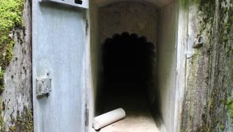 Bunker in der Wolfsschlucht bei Welschenrohr