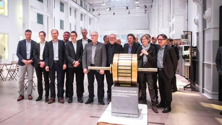 Mit diesem Generator hat BBC von Baden aus die Welt erobert: Die Gründer des neuen Vereins in der Halle 37.