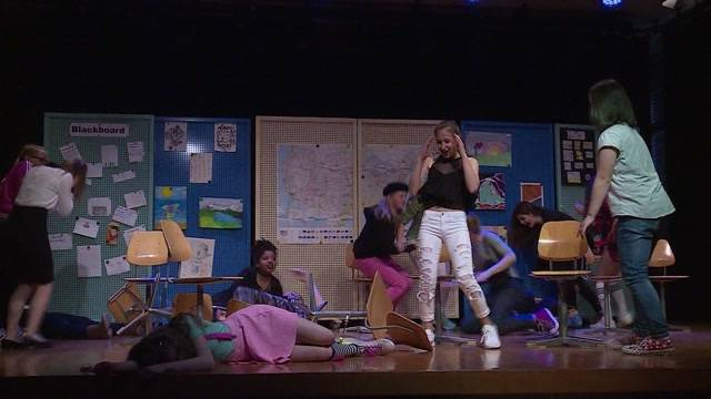 Heikles Thema: Schüler bringen Amoklauf auf die Bühne