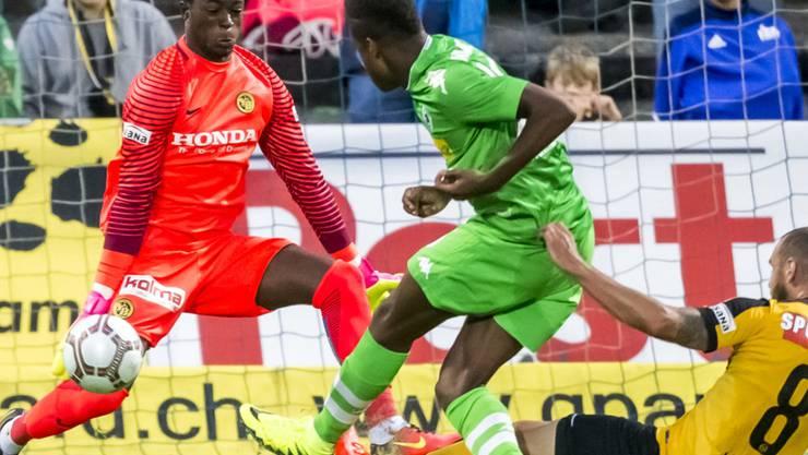 War schon einmal in der Schweiz: Luzerns Neuzuzug Tsy-William Ndenge erzielt 2016 am Uhrencup ein Tor gegen YB