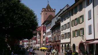 Das Restaurant liegt in der Altstadt von Rheinfelden.