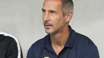 Muss mit Dynamo Kiew einen grossen Brocken aus dem Weg Richtung Champions League räumen: YB-Trainer Adi Hütter