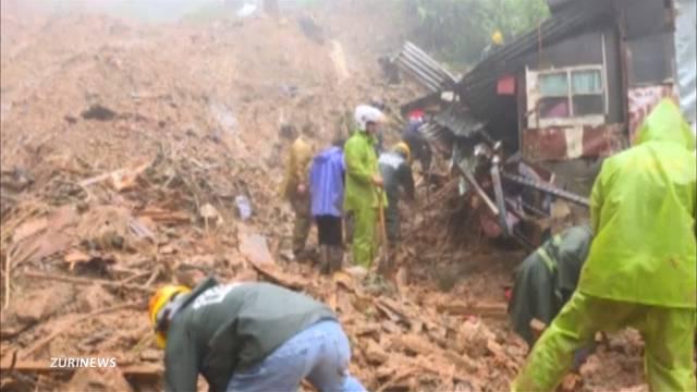 Tod und Zerstörung durch «Florence» und «Mangkhut»