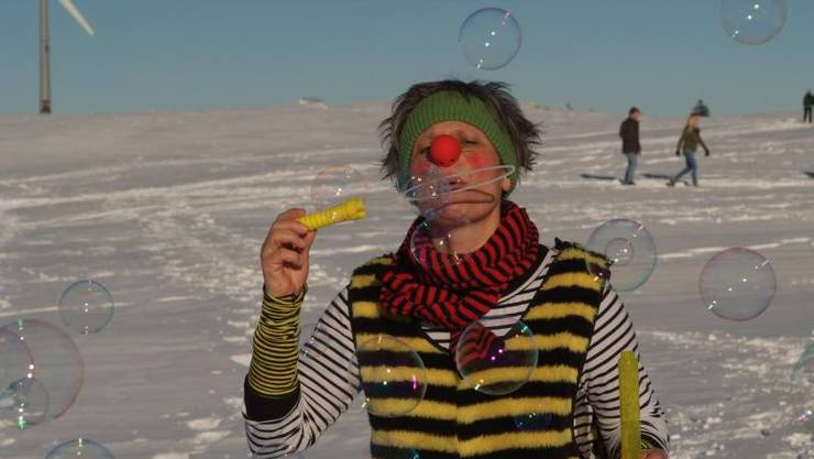 Der Clown Zitronella ist Teil des Winterangebots.