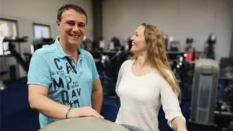 Acim Sinani (45) und Manuela Fritz (37) sind seit Oktober 2017 Besitzer und Betreiber des «Swiss Training».