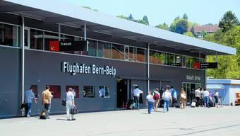 Bern-Belp: Ohne Kantonsbeiträge wäre der Flughafen in Gefahr, sagen die Betreiberin und der Regierungsrat. (Bild: zvg)