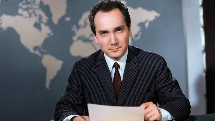 Am 27. November verstarb Léon Huber, «Tagesschau»-Sprecher der ersten Stunde. Sein Leben spiegelt den Wandel des Schweizer Fernsehens archetypisch.srf
