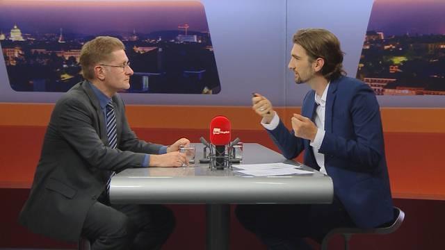 Christoph Neuhaus hinter den Kulissen eines Regierungsrates