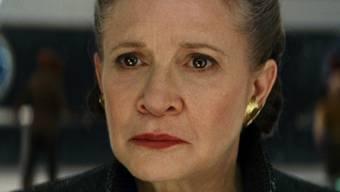 Soll auch im neusten geplanten Star-Wars-Film zu sehen sein: die 2016 verstorbene US-Schauspielerin Carrie Fisher. (Archivbild)