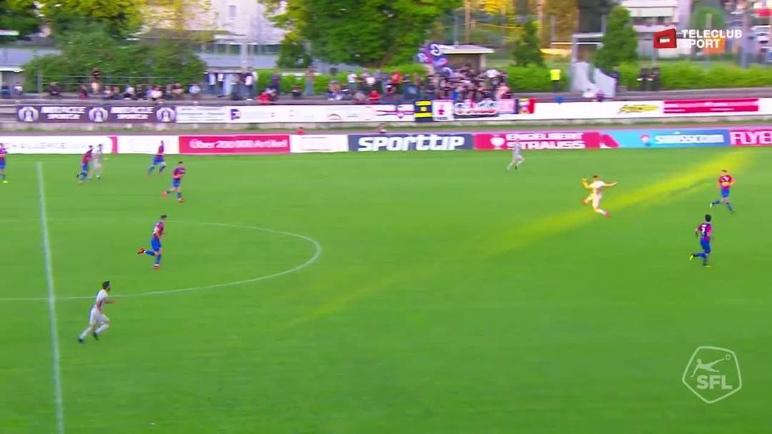 Challenge League 18/19 Runde 35: Chiasso - FC Aarau 24.2.19 - 0:1 für FC Aarau von Petar Misic (Assist: Marco Schneuwly)