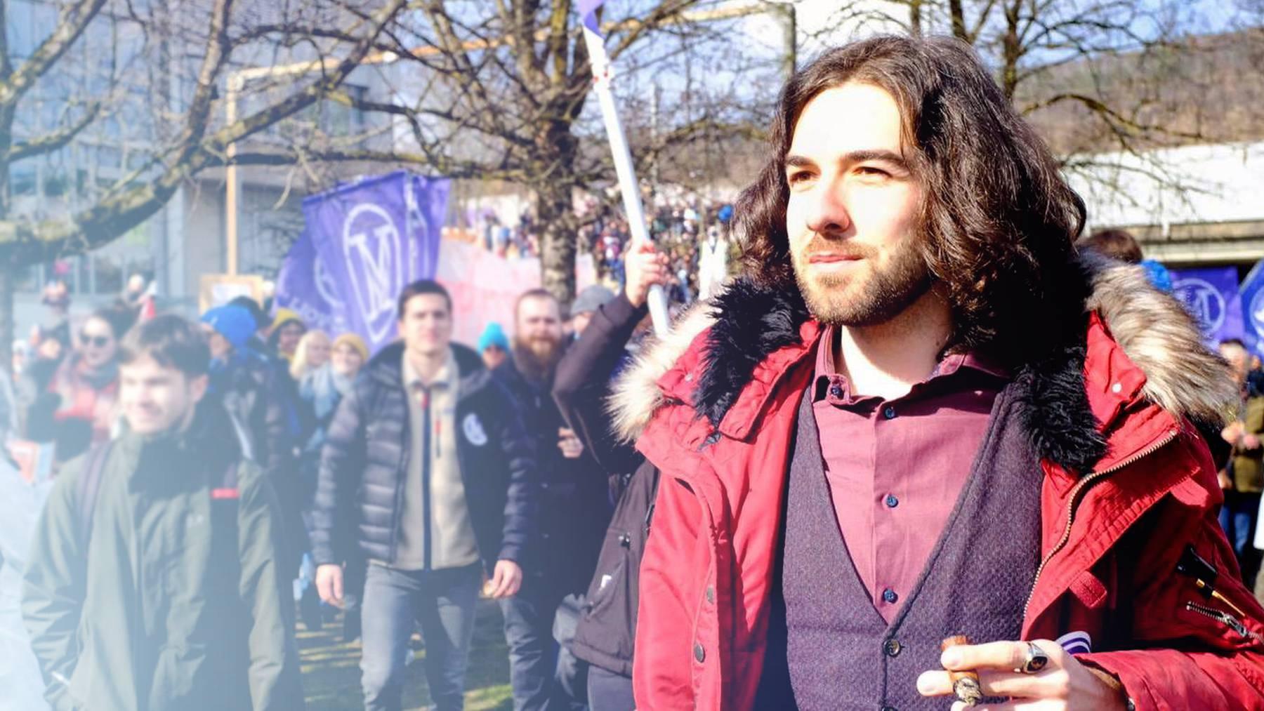 Ewige Demos in Bern: Nicolas Rimoldi von der Organisation Mass-Voll nimmt Stellung