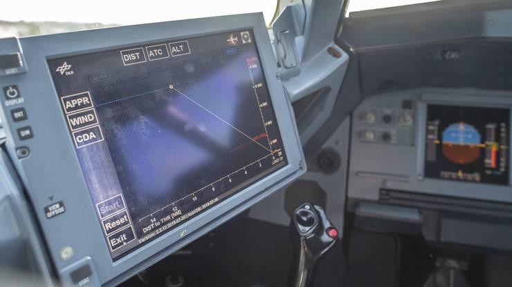 So sieht die LNAS-Hilfestellung für Piloten aus.