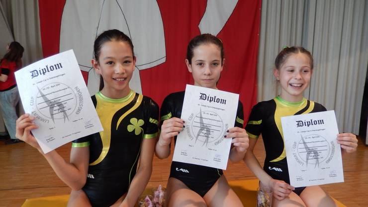 v.l. Vanessa Zimmermann, Ivana Mohn und Bernadette Fries