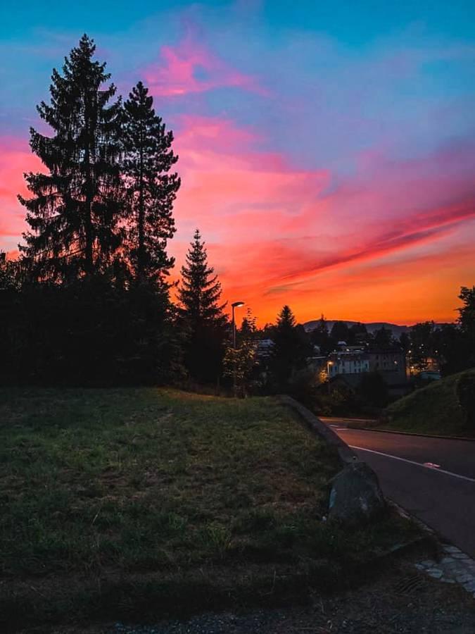Das Morgenrot in St.Gallen (© zVg)