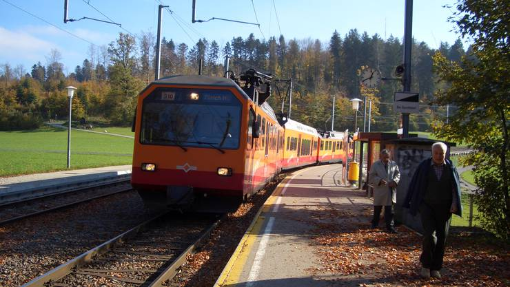 Die Sihltal Zürich Üetliberg Bahn (SZU) möchte wieder pünktlicher werden und hat dafür einen Massnahmenkatalog zusammengestellt. (Archivbild)