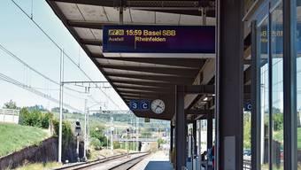 Kein Anschluss unter dieser Nummer: Der IR 36 zwischen Basel und Zürich-Flughafen fällt bis Mitte Dezember aus.