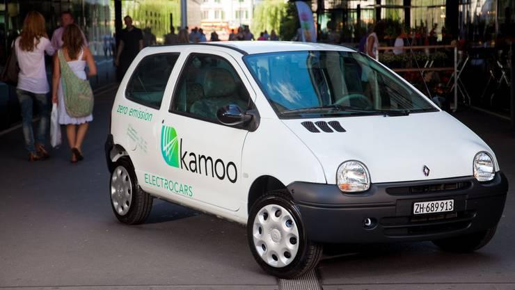 Ein eShare-Auto von Kamoo (Archiv)