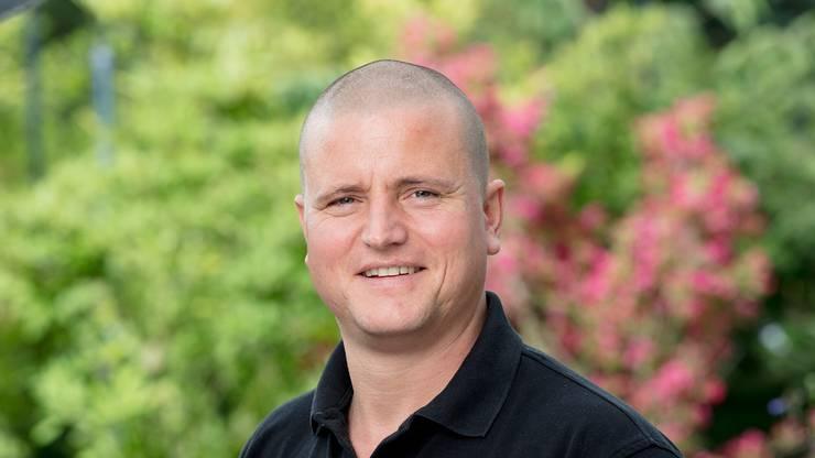 Johannes Zulauf ist Co-Geschäftsführer des Gartencenters Zulauf in Schinznach-Dorf.