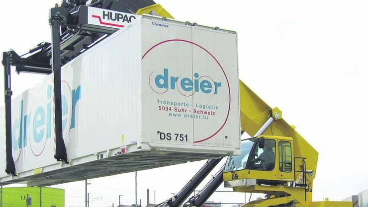 Dreier Transporte in Suhr/Gränichen liefert sich nach 2009 erneut eine Kraftprobe mit einer Gewerkschaft.Marcel Siegrist