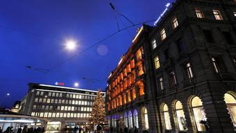In Schwierigkeiten: Der Schweizer Bankenplatz steht unter massivem Druck.