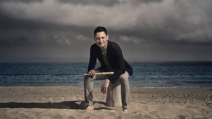 Der Winterthurer Flötist Maurice Steger erhält dieses Jahr einen Echo Klassik (Bild Handout).