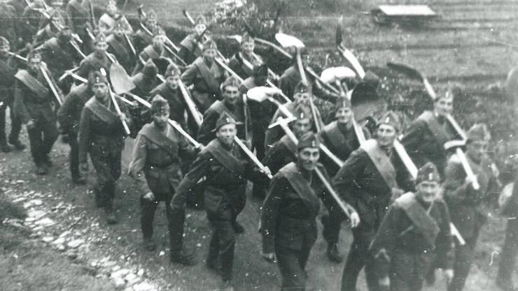 Mobilmachung während des zweiten Weltkrieges. (Symbolbild)