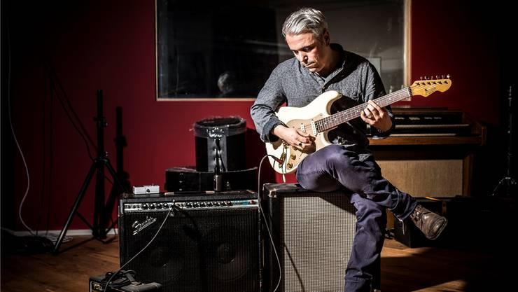 Blues-Gitarrist Marco Jencarelli: «Die blauen Töne, das blaue Lebensgefühl, das prägt mich musikalisch.»