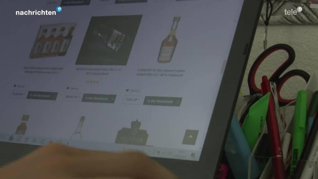 So einfach können Jugendliche im Internet Alkohol kaufen
