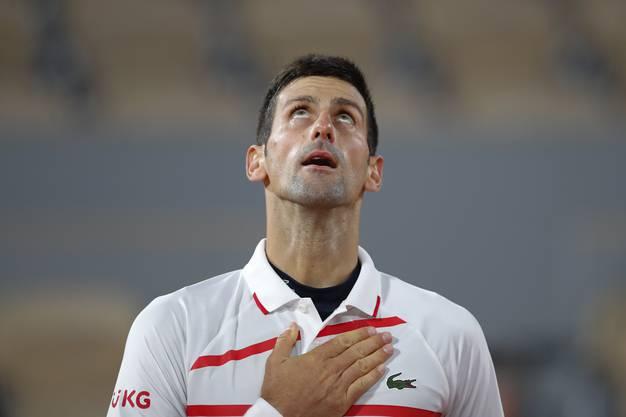 Novak Djokovic verlor letztmals im November eine Partie.