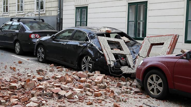 Das massive Erdbeben in der Nähe der kroatischen Hauptstadt Zagreb hinterliess starke Schäden und kostete einen 15-Jährigen das Leben.