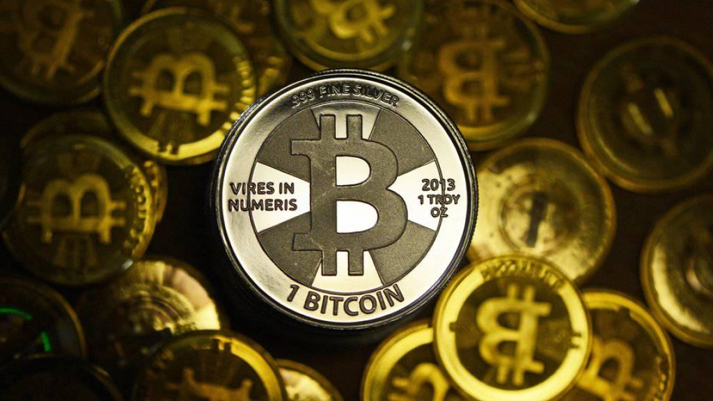 Das Geschäft mit Cybergeld boomt. Bitcoin ist die grösste und bekannteste Kryptowährung.