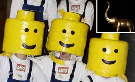 Lego-Männchen stehlen in Balsthal eine Elefantenstatue aus Cabaret